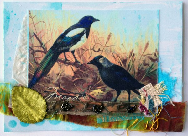 Mixed Media Card - Strathmore Paper Commission 2