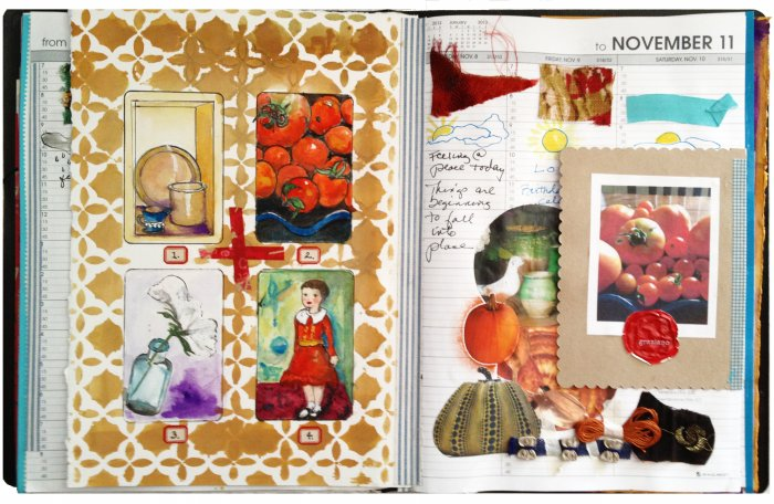 Mixed Media Collage - Gina Armfield No Excuses Book Contribution