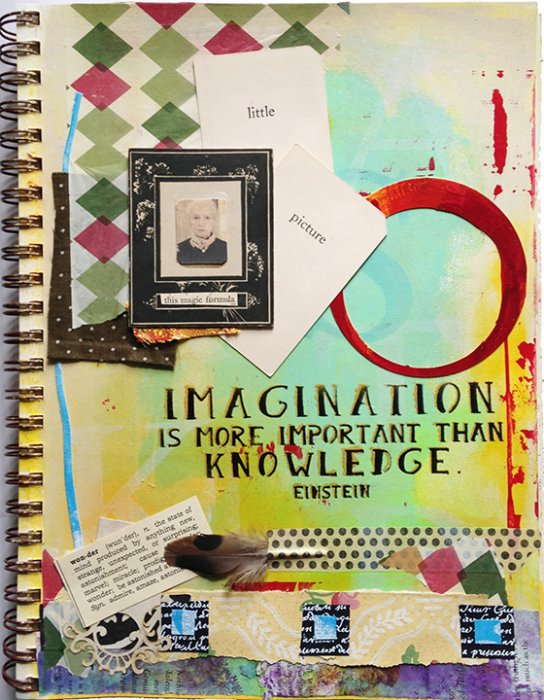 Journal Page with Text