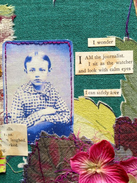 Mixed Media Collage from In This House