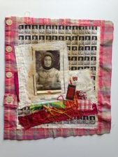 Mixed Media Fabric Collage