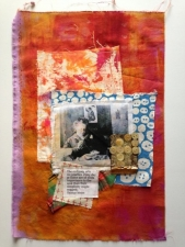 Mixed Media Fabric Collage 2
