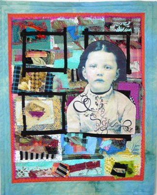 Collaged Quilt