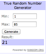 First TAP Paper Giveaway Winner