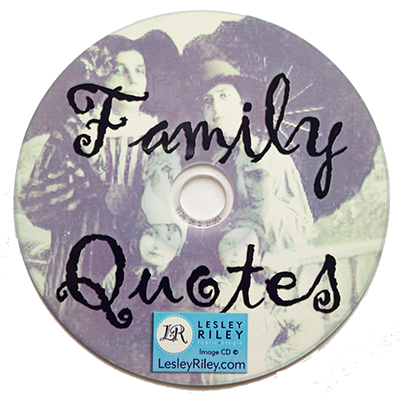 Family Quotes CD