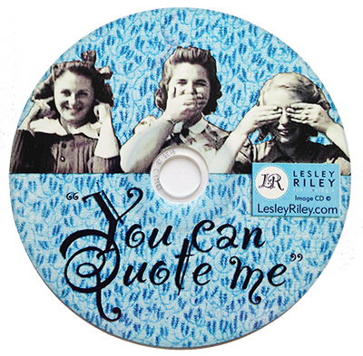 You Can Quote Me CD