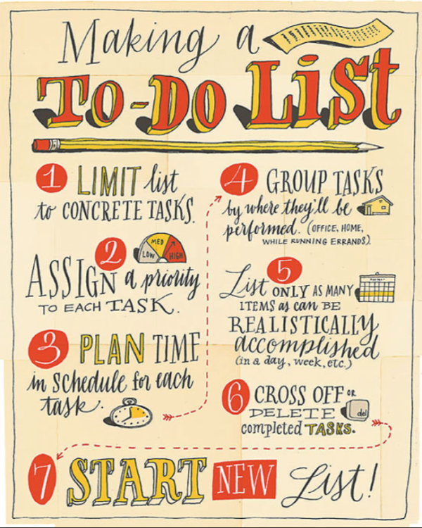 conquer your to do list for more creative time lesley riley